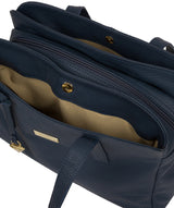 'Liana' Denim Leather Handbag image 5