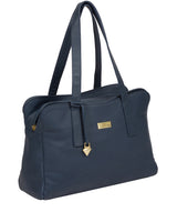 'Liana' Denim Leather Handbag image 6