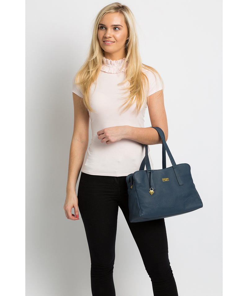 'Liana' Denim Leather Handbag image 2