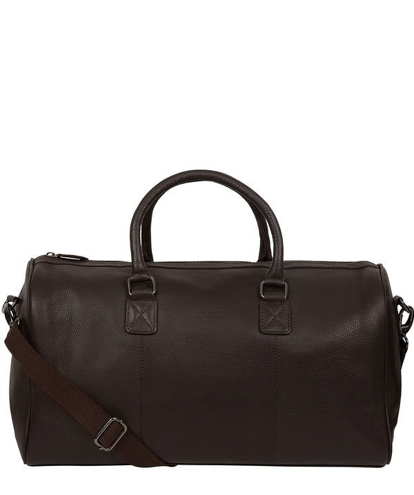 'Club' Brown Leather Holdall