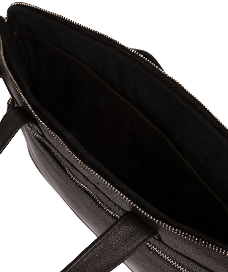 'Titan' Dark Brown Leather Workbag image 4