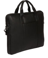 'Alex' Black Leather Workbag image 3