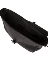 'Clarke' Black Leather Workbag image 4