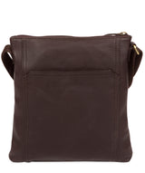'Lucie' Brown Leather Cross Body Bags  image 3