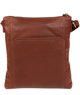 'Lucie' Cognac Leather Cross Body Bags  image 3