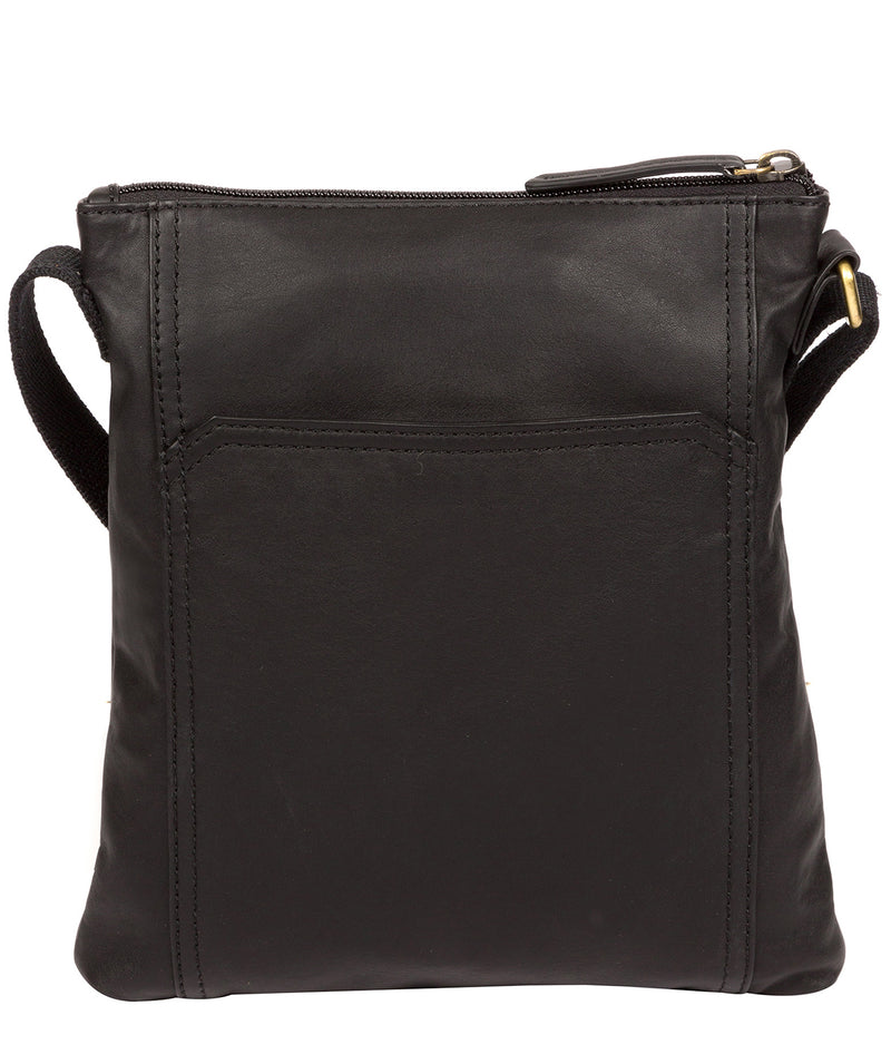 'Lucie' Ebony Leather Cross Body Bags  image 3