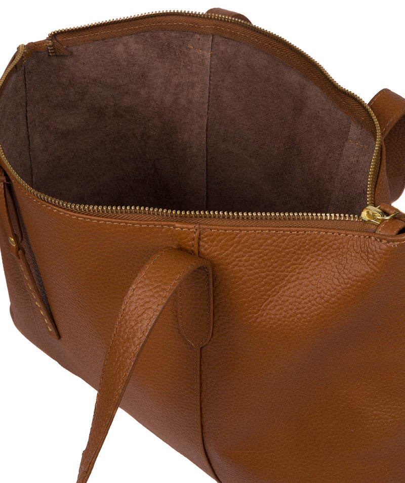 'Ombra' Tan Leather Tote Bag image 4