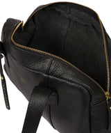 'Johanson' Black Leather Handbag image 4