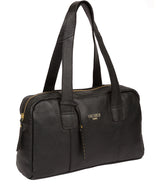 'Johanson' Black Leather Handbag image 5