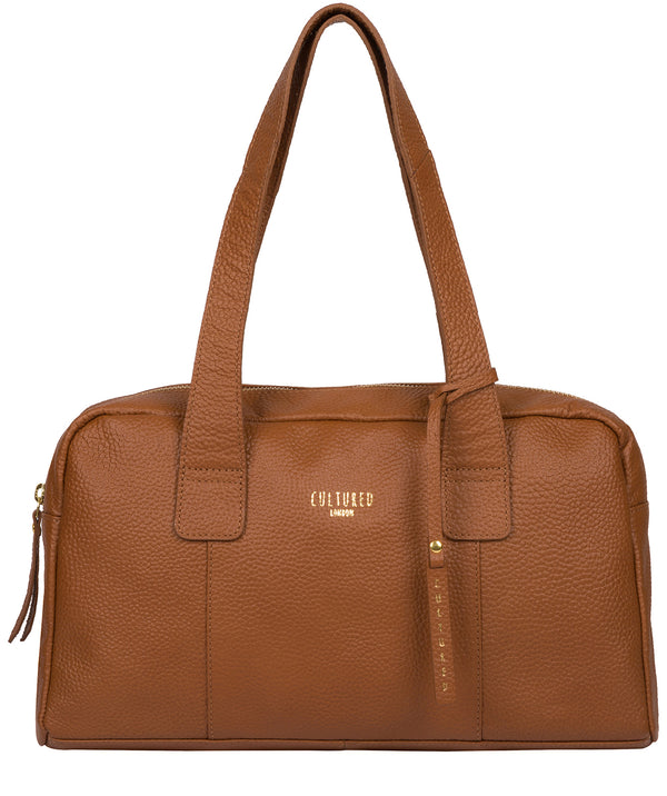 'Johanson' Tan Leather Handbag Pure Luxuries London