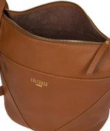 'Olsen' Tan Leather Shoulder Bag image 4