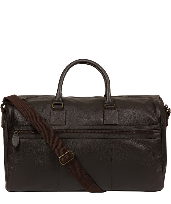 'Helm' Brown Leather Holdall image 1
