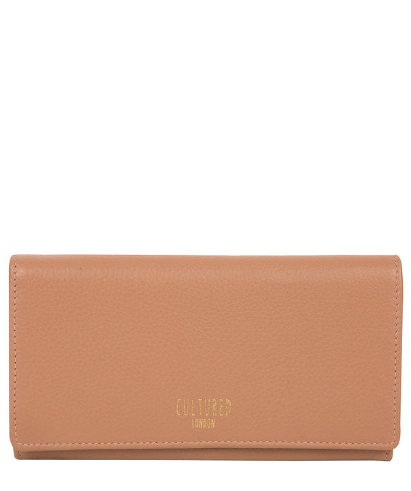 'Harlow' Fawn Leather Purse