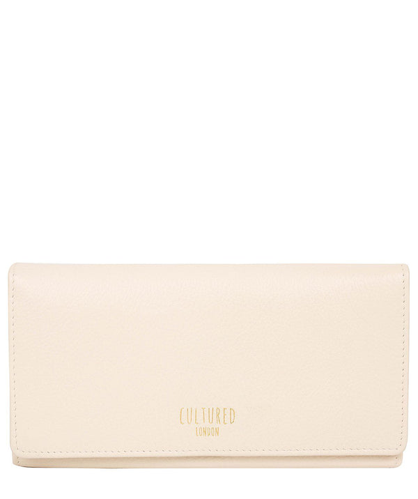 'Harlow' Pearl Leather Purse