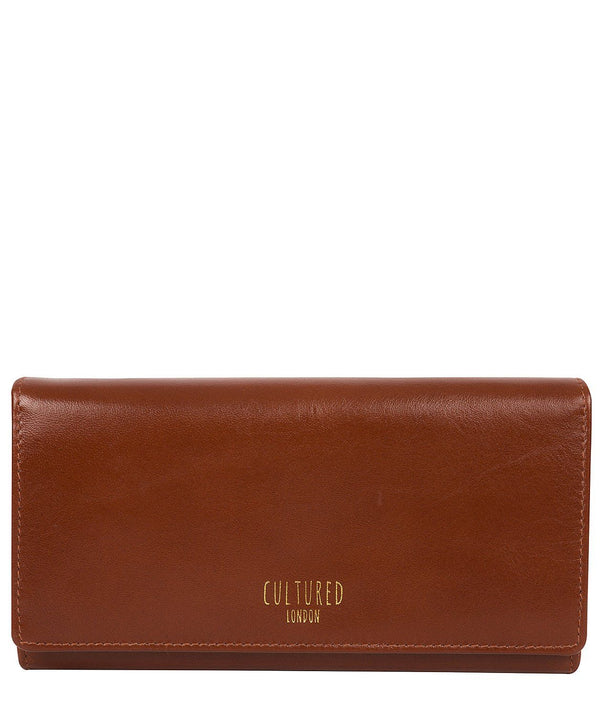 'Harlow' Saddle Leather Purse Pure Luxuries London