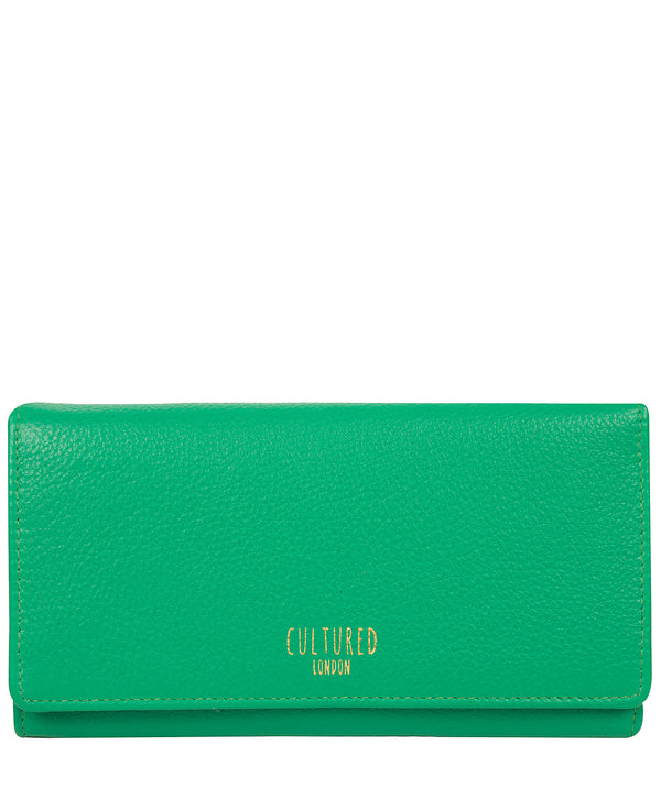 'Harlow' Shamrock Leather Purse
