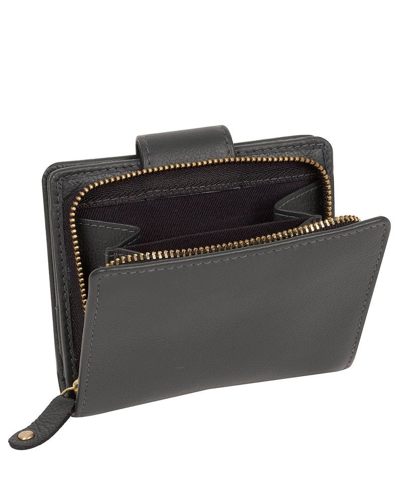 'Annalise' Admiral Navy Leather Purse