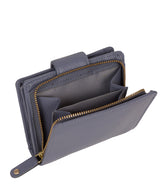'Annalise' Bluebell Leather Purse