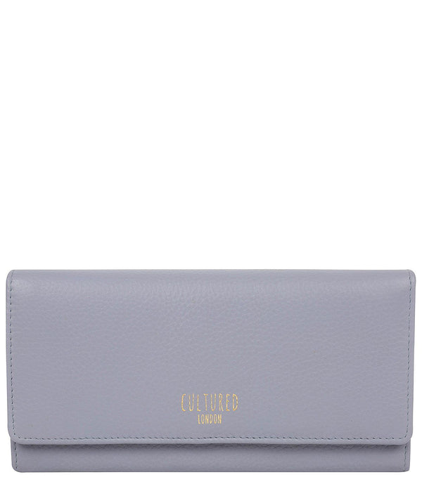 'Lorelei' Pale Blue Leather Purse