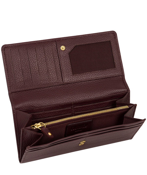 'Lorelei' Raisin Leather Purse