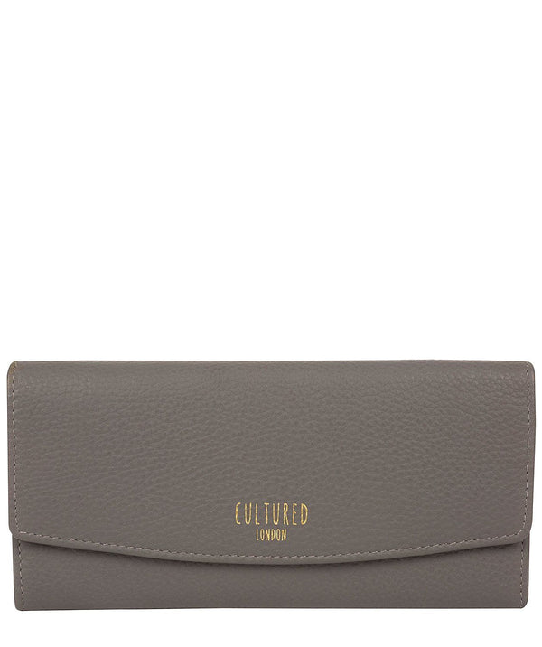 'Talulla' Grey Leather Purse