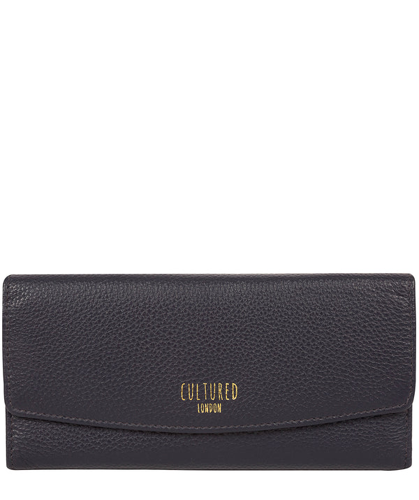 'Talulla' Oxford Blue Leather Purse