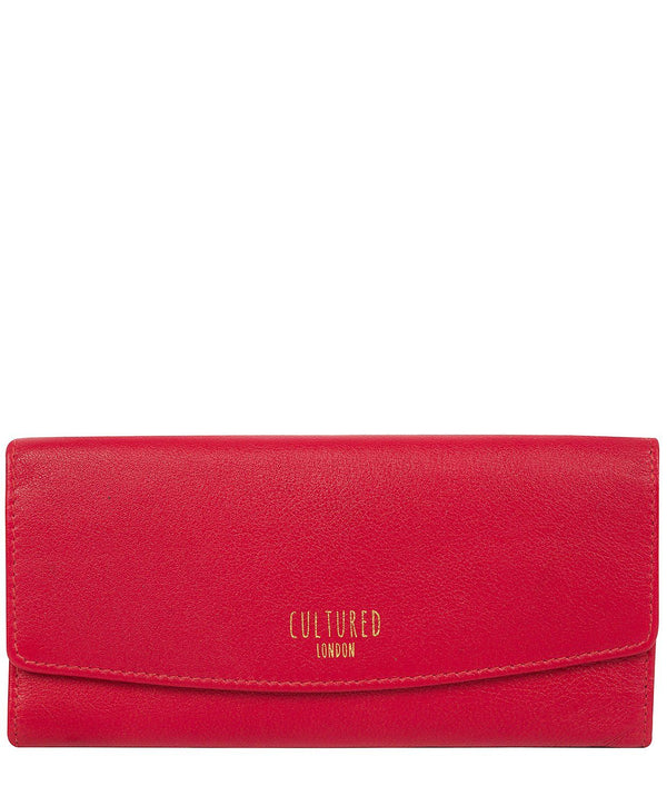 'Talulla' Red Leather Purse