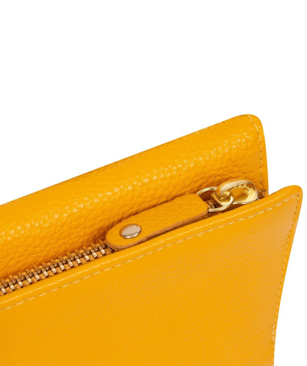 'Letitia' Bumblebee Leather Purse