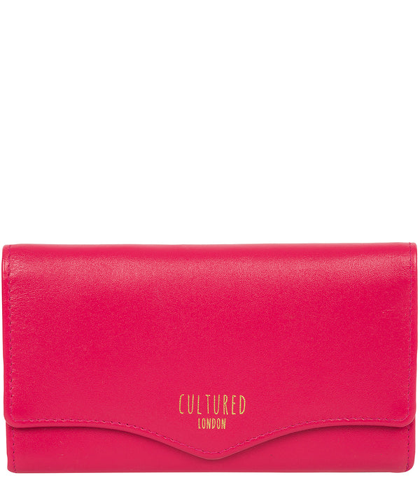 'Letitia' Fushia Leather Purse