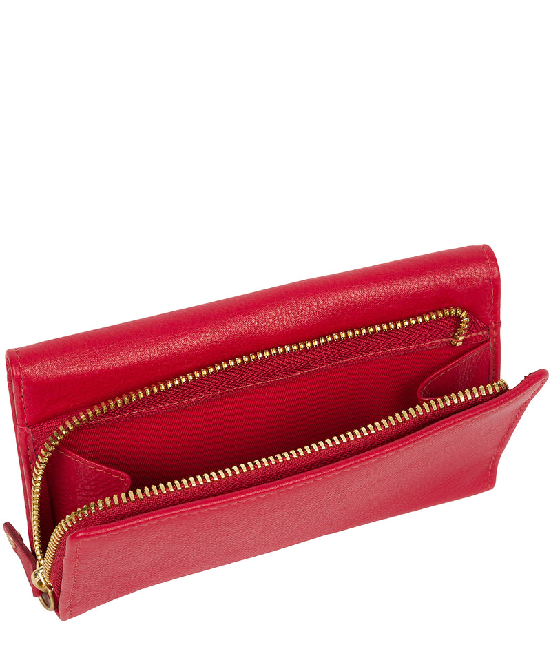 'Letitia' Red Leather Purse