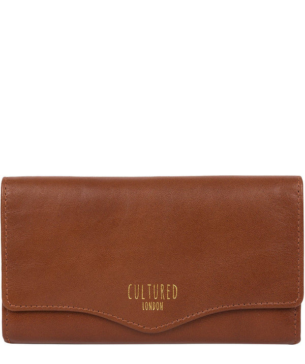 'Letitia' Saddle Leather Purse