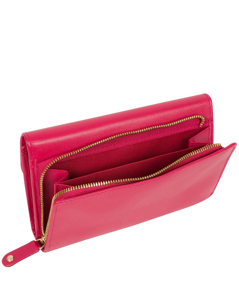 'Tatiana' Fushia Leather Purse