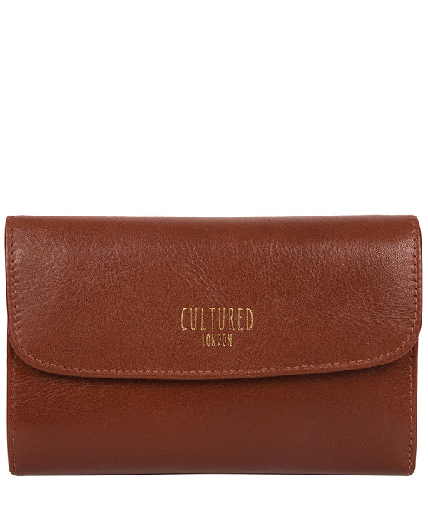 'Tatiana' Saddle Leather Purse