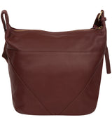 'Chelsea' Rich Chestnut Leather Shoulder Bag