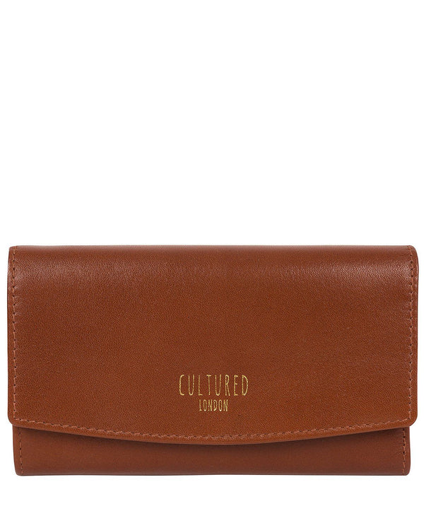 'Aviva' Saddle Leather Purse