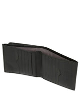 'Wilson' Black Leather Bi-Fold Wallet image 3
