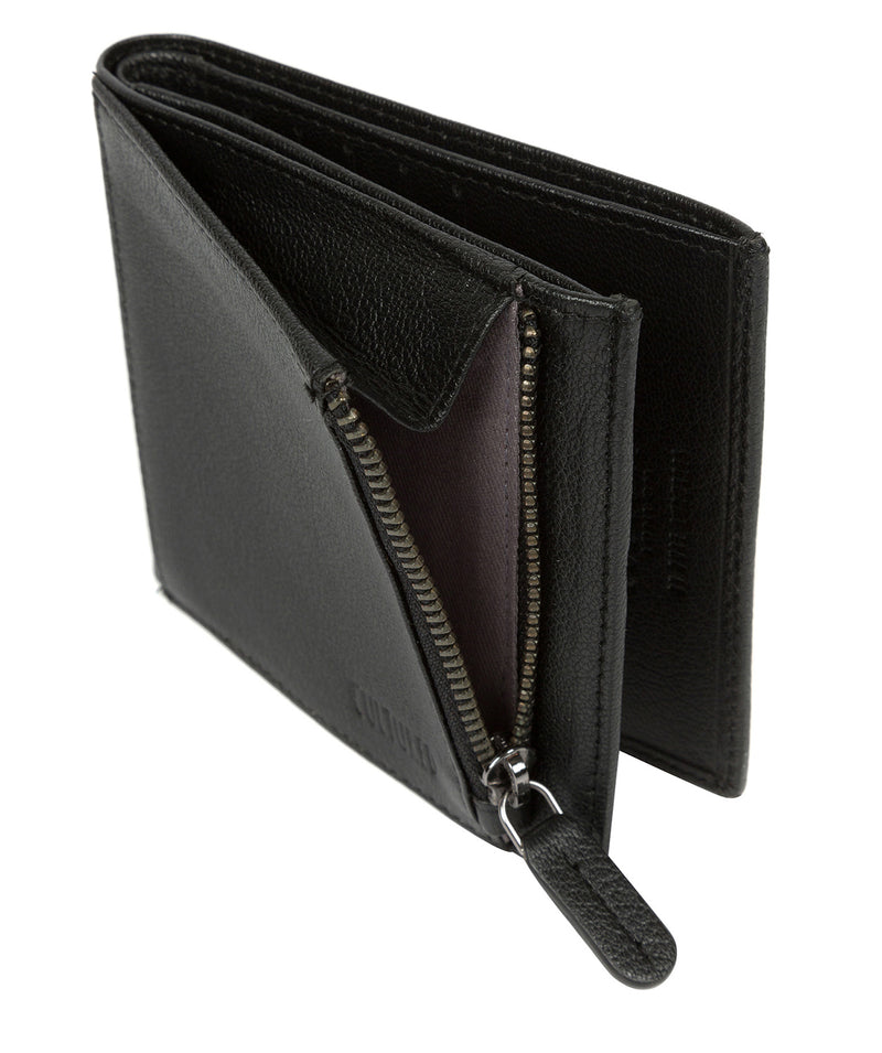 'Wilson' Black Leather Bi-Fold Wallet image 4