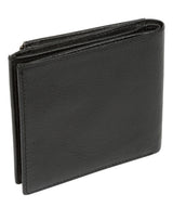 'Wilson' Black Leather Bi-Fold Wallet image 5