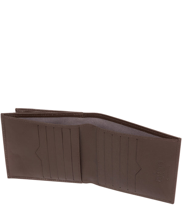 'Wilson' Brown Leather Bi-Fold Wallet image 3