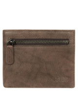 'Victor' Vintage Brown Leather Tri-Fold Wallet image 1