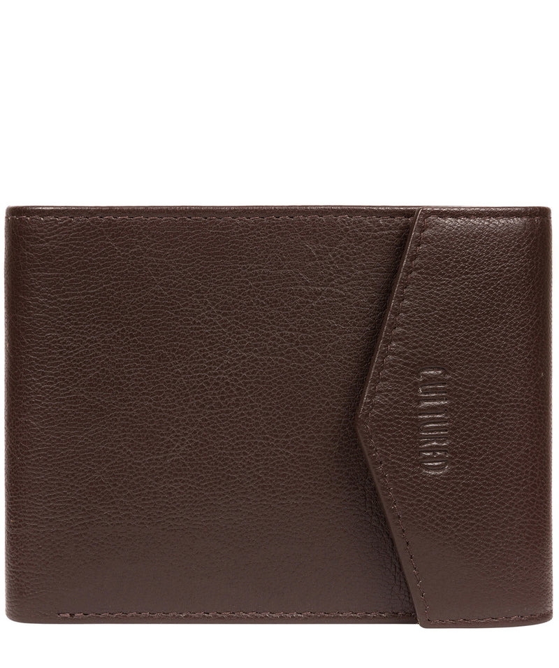 'Doyle' Brown Leather Bi-Fold Wallet image 1