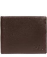 'Niall' Brown Leather Tri-Fold Wallet image 1