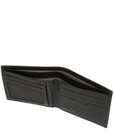 'Fabian' Black Leather Bi-Fold Wallet image 4