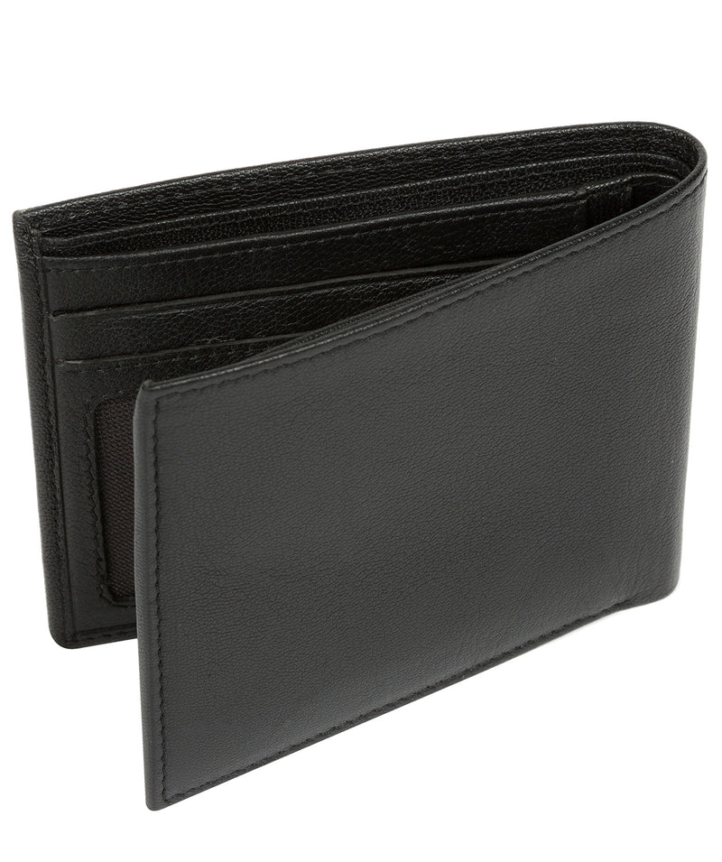 'Fabian' Black Leather Bi-Fold Wallet image 5