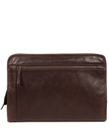 'Pirlo' Italian-Inspired Espresso Leather Document Case image 1