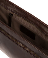 'Pirlo' Italian-Inspired Espresso Leather Document Case image 4