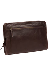 'Pirlo' Italian-Inspired Espresso Leather Document Case image 5