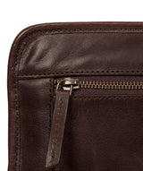 'Pirlo' Italian-Inspired Espresso Leather Document Case image 6