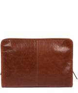 'Pirlo' Italian-Inspired Umber Brown Leather Document Case image 3