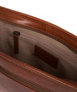 'Pirlo' Italian-Inspired Umber Brown Leather Document Case image 4